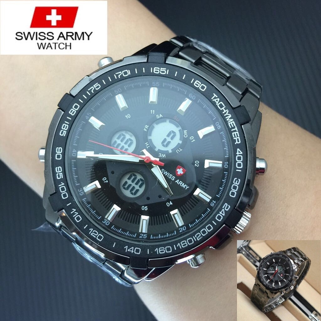 Jam Tangan Pria Swiss Army Rp165000