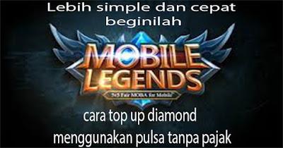top up diamond mobile legend