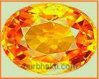 पुखराज रत्नकब क्यों कैसे orange topaz ring