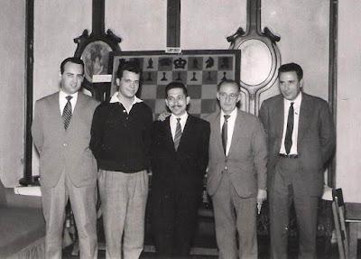 Club Ajedrez Barcelona en 1958