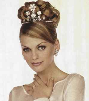 long short hairstyles wedding hair styles for long hair with tiara beautiful design