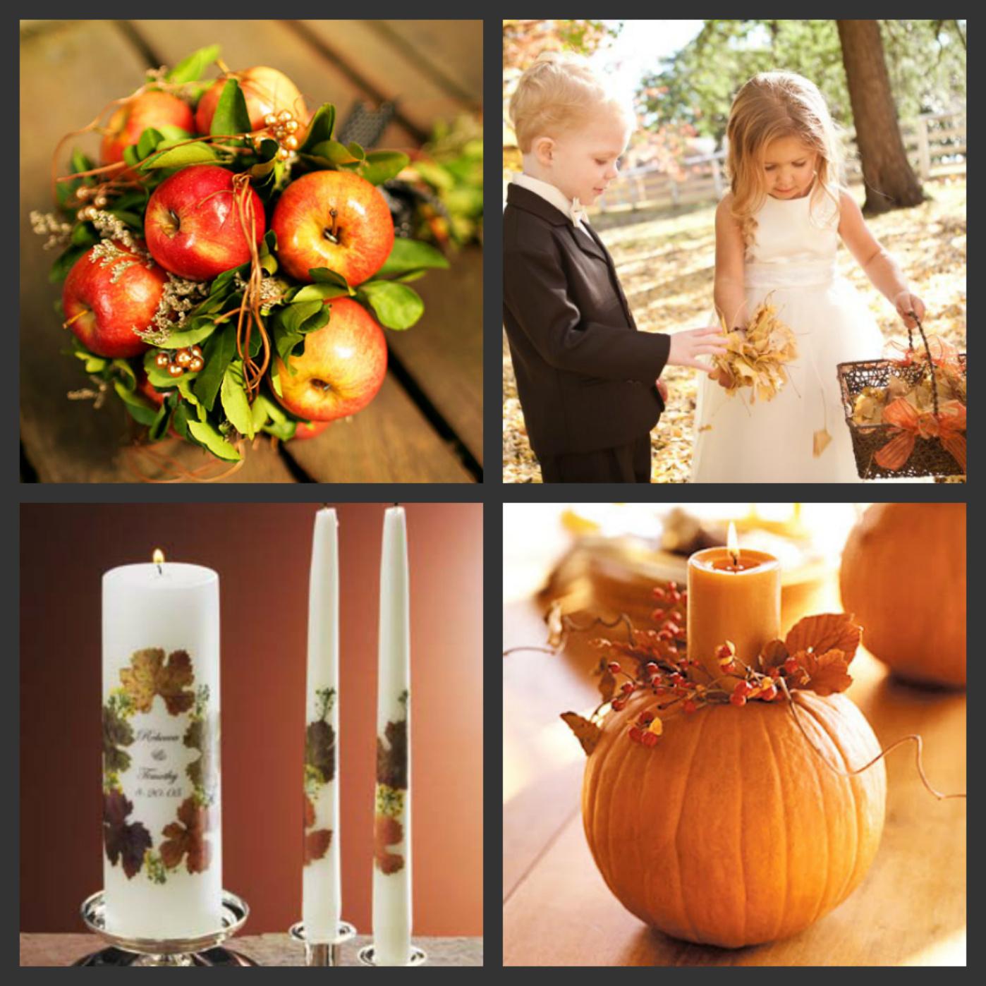 Fall Wedding Ideas: Weddings Are Fun Blog: Autumn Harvest Themed Wedding