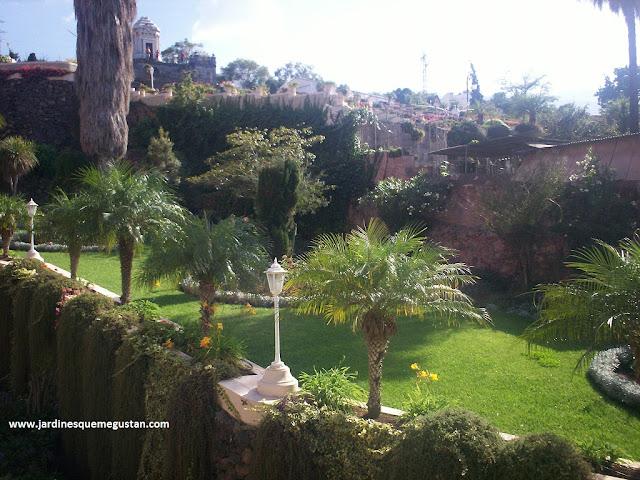 Jardín del Marquesado de la Quinta Roja en la Orotava