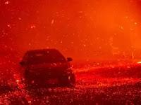 Terrifying Fire Struck Venture County, California, Thousands Refugees