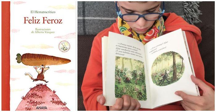 mejores cuentos libros infantiles de 5 a 8 años Feliz feroz hematocrítico