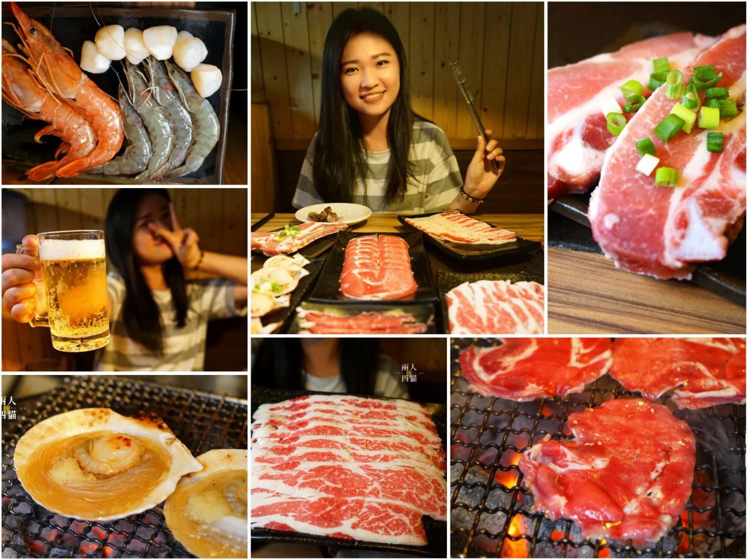 【台北|美食】公館商圈超狂燒肉!【戰醬燒肉】和牛雪花、天使紅蝦、戰斧豬排吃到飽