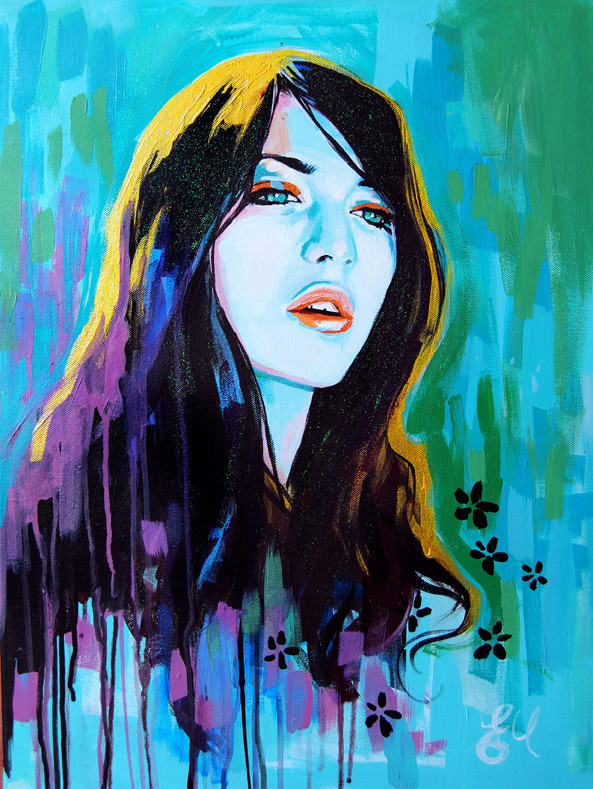 BEAUTIFUL PORTRAIT PAINTINGS BY EMMA UBER