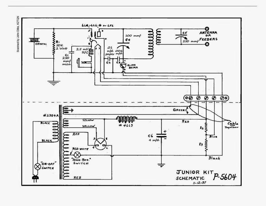Cq Cq Cq De W0vlz Utah Jr Transmitter