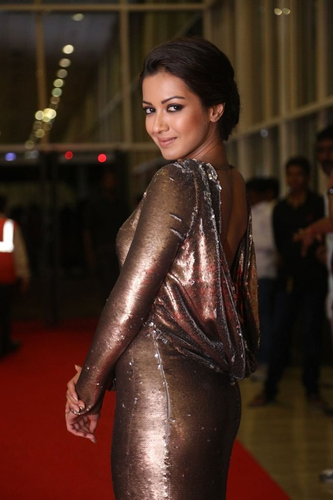 Catherine Tresa During Gautham Nanda Movie Audio Launch Stills