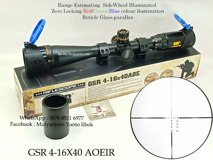 Can you repair your scope windage elevation turret and parallax