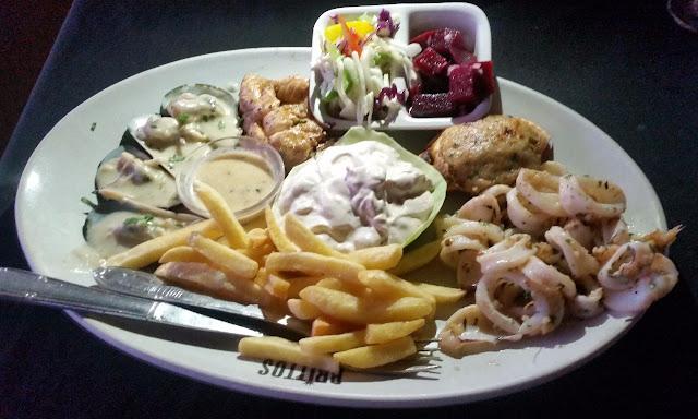 Brittos Seafood Platter