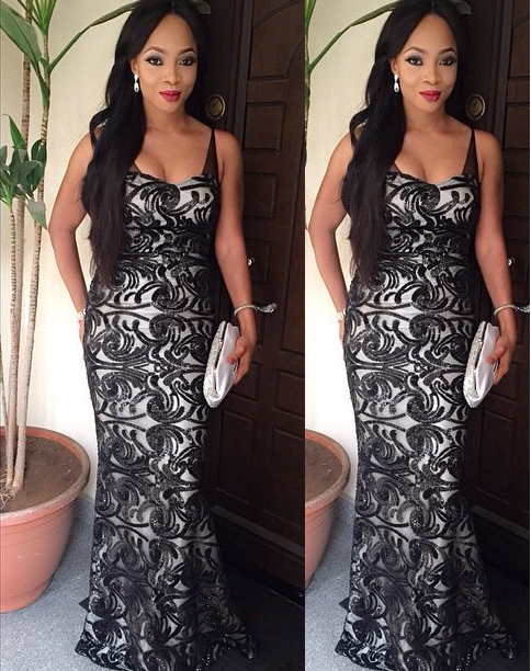 Fab look of the day - Toke Makinwa!