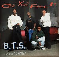 B.T.S. feat. Jamiz - Can You Feel It-CD-1993
