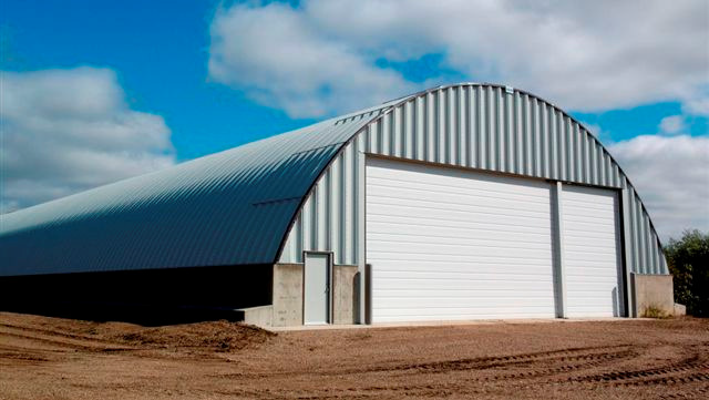 curvet sheds for grain storage