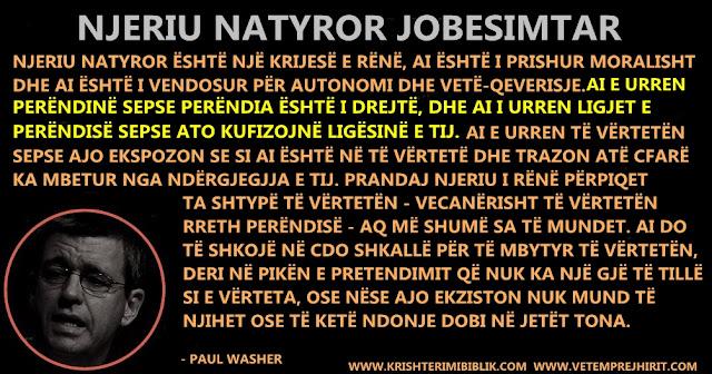 njeriu natyror jobesimtar, Bibla, mekatshmeria e njeriut, paul washer ne shqip, thenie biblike te krishtera, mesime te krishtera,