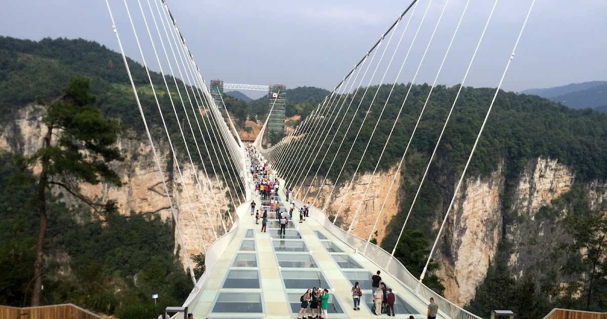 Zhangjiajie National Forest Park China World Tallest And