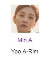 Min A pemeran Yoo A-Rim
