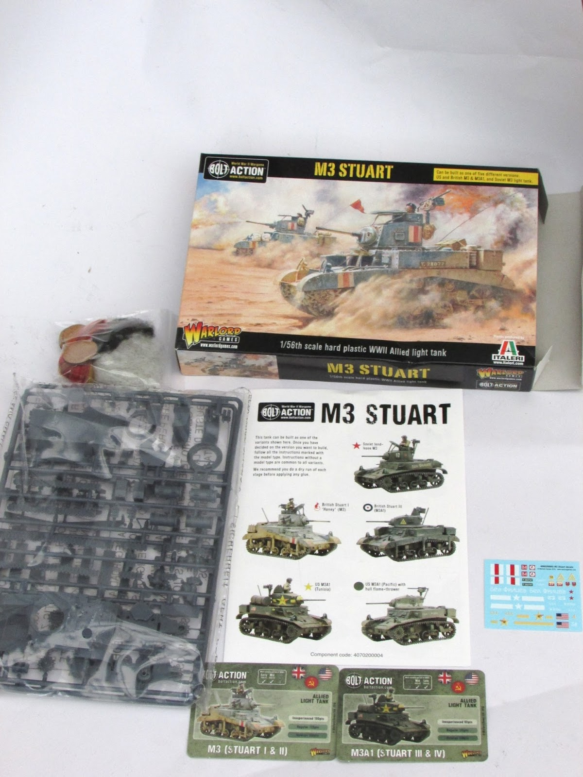 Volley Fire Painting : Warlord Games 28mm 1/56 Stuart Review