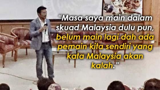 Lim Teong Kim Kongsi 5 Pengajaran Semasa Forum Bola Sepak Malaysia