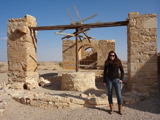 Pozo del Qusair Amra en Jordania