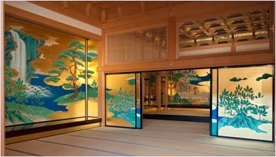 ด้านในปราสาทคุมาโมตะ (Kumamoto Castle)