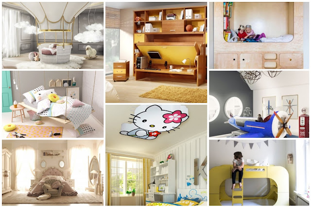 18 Kids Bedrooms With Distinctive Decors 2018