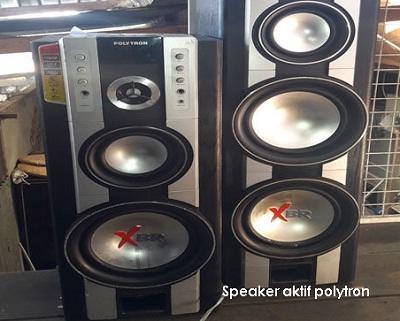 cara memperbaiki speaker aktif polytron xbr yang rusak tehnomac