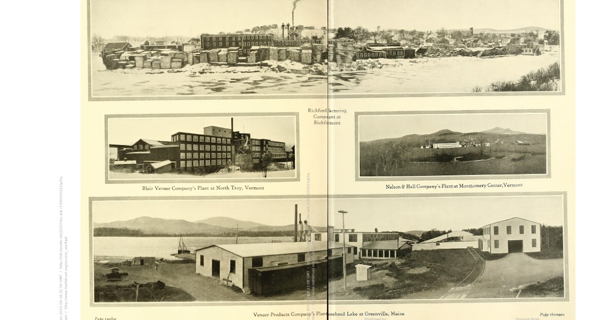 Central Vermont Railway: Wordless Wednesday #153 - Atlas Plywood Corp, Richford VT (with other ...