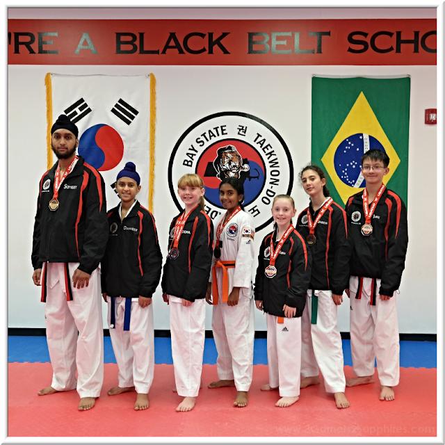 Baystate Taekwondo Academy 2018 USA Taekwondo National Championships Competitors | 3 Garnets & 2 Sapphires