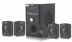 Envent 4.1 Bluetooth Hometheatre Speaker (50W RMS) - Ultrawave+BT