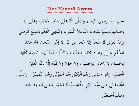 Bacaan Doa Asyura Beserta Artinya