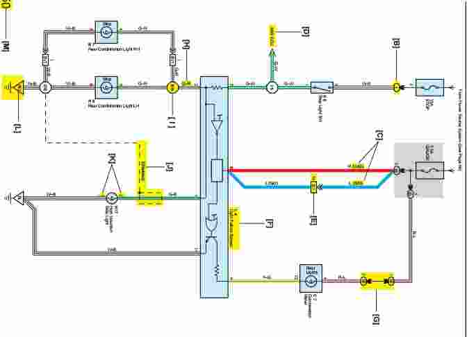 toyota hilux tail light wiring diagram   38 wiring diagram