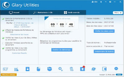 أحسن تنظيف لجهاز الكمبيوتر الخاص بك بالكامل وبالمجان عن طريق ثلاثة برامج  CCleaner  وGlary Utilites  وAdvanced SystemCare
