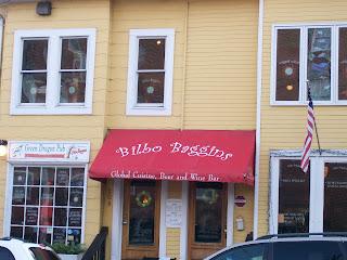 Bilbo Baggins pub in Alexandria, VA.