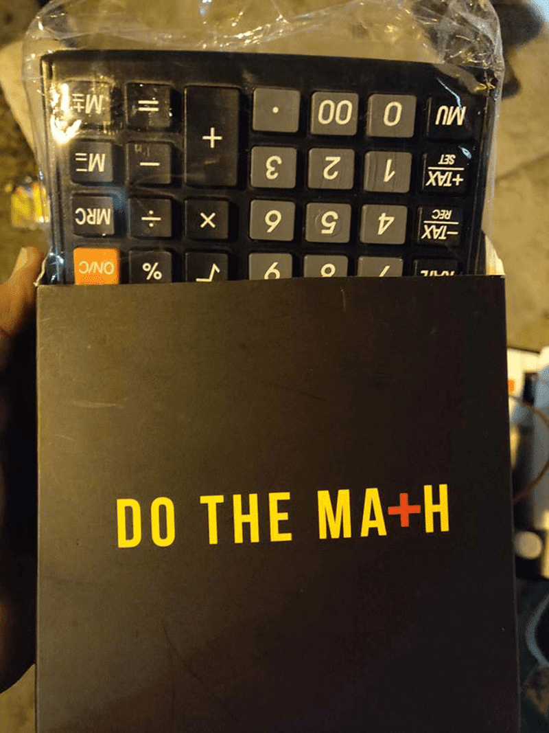POCOPHONE gave away FREE calculators during the OnePlus 6T launch