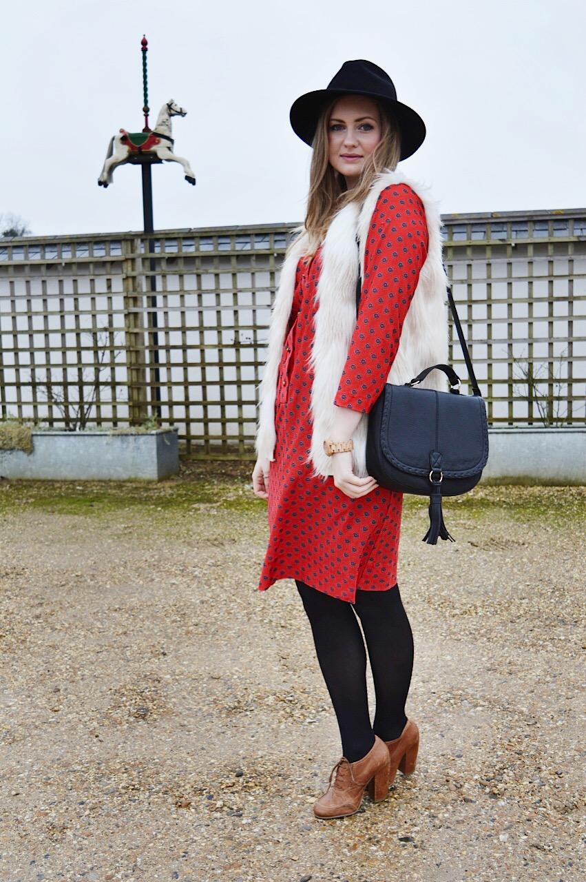 Vintage folk dress, FashionFake blog, fashion bloggers, carnival fashion