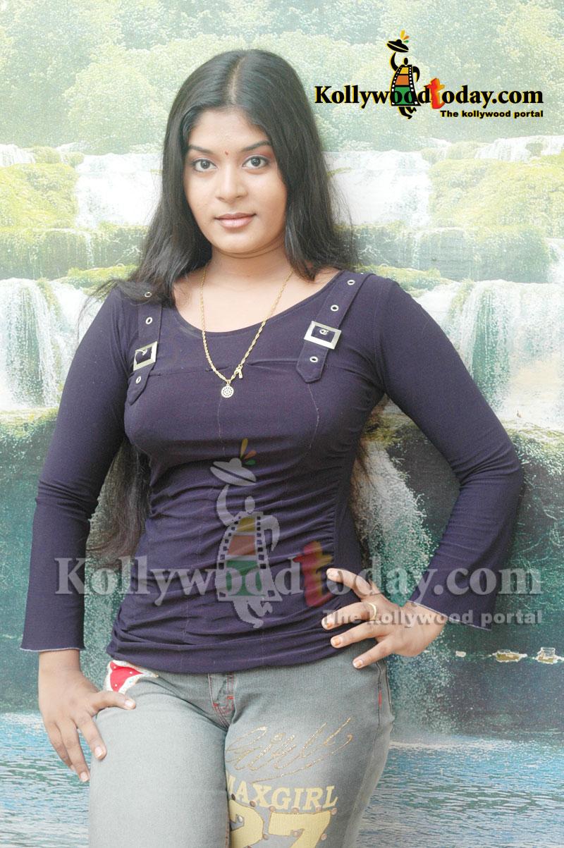 Indian Actress Tamil Tv Serial Actress Neepa Hot Big -8273