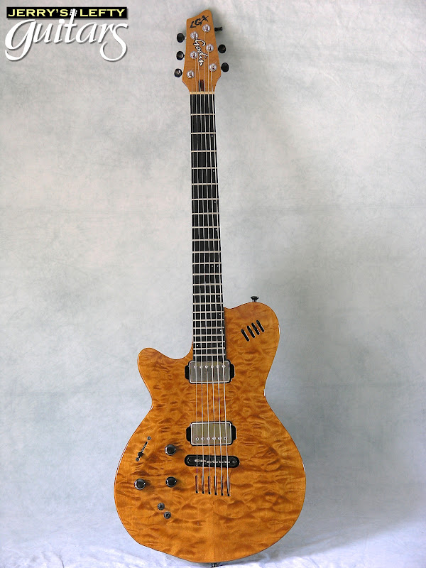jerry 39 s lefty guitars newest guitar arrivals updated weekly godin lgx sa used left handed. Black Bedroom Furniture Sets. Home Design Ideas