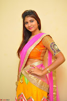 Lucky Sree in dasling Pink Saree and Orange Choli DSC 0352 1600x1063.JPG