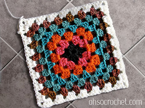 My Favorite Finds 2 Its All About Squares Free Crochet Granny
