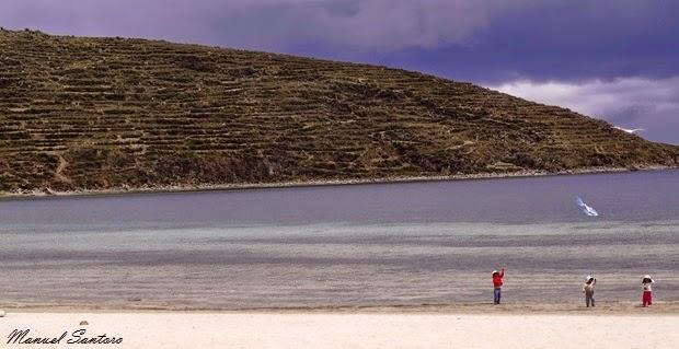 Isla del Sol, spiaggia di Cha'llapampa