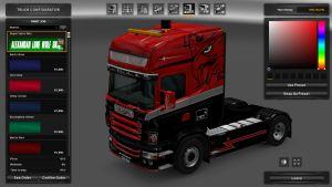 Super Vabis Skin for Scania RJL