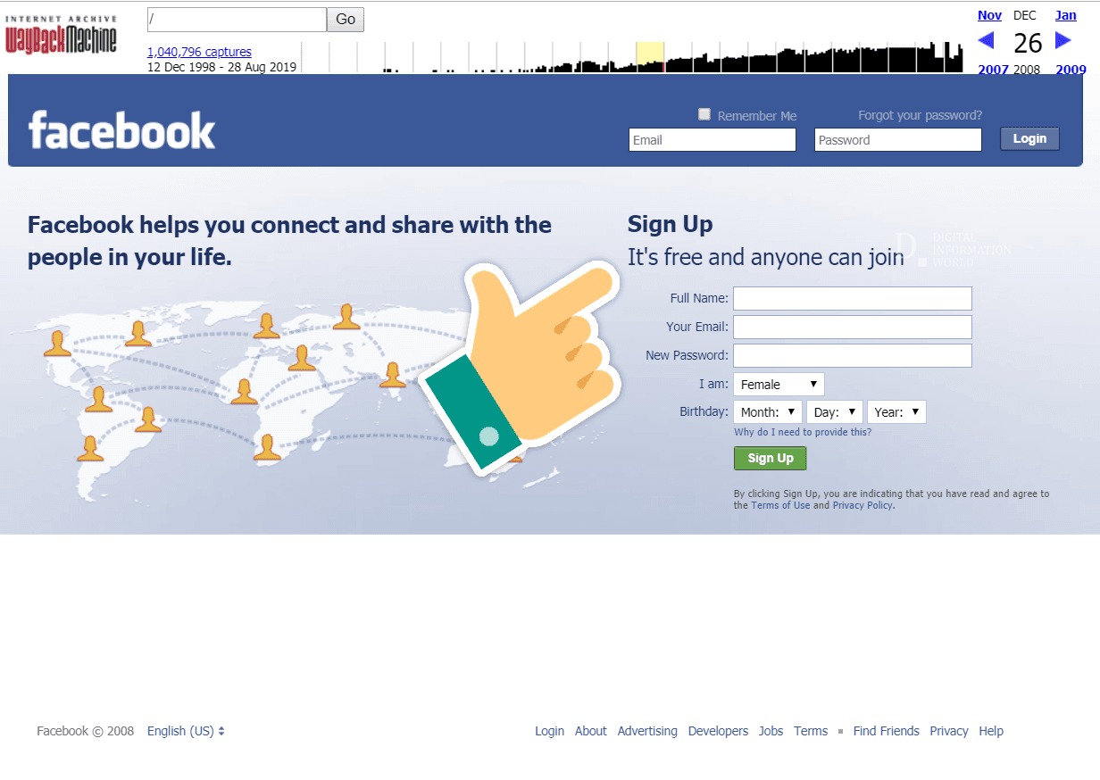 There's a change in Facebook's slogan that shouldn't go