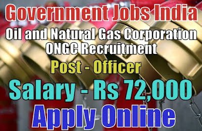 Oil and Natural Gas Corporation Limited ONGC Recruitment 2018
