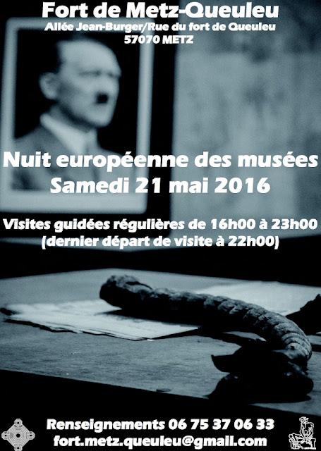 METZ (57) - Nuit européenne des Musées au Fort de Metz-Queuleu (21 juin 2016)