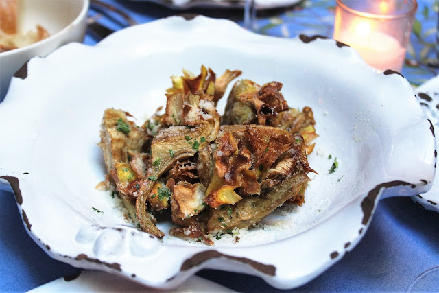Carciofi Croccanti Crispy Baby Artichoke Hearts With Parmigiano And Parsley at Palma
