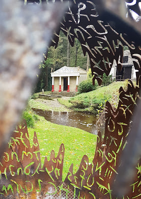 The temple at Vindolanda