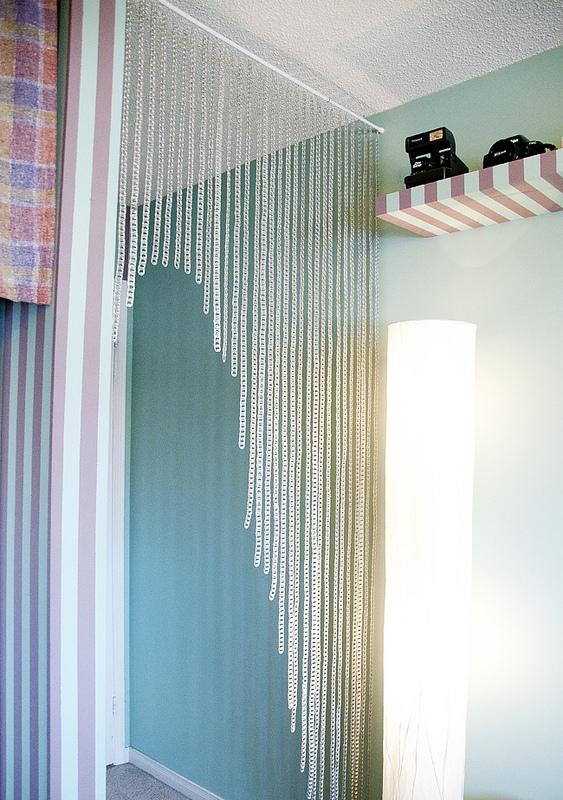 De todo un poco c mo hacer una cortina con anillas de for Anillas de cortinas