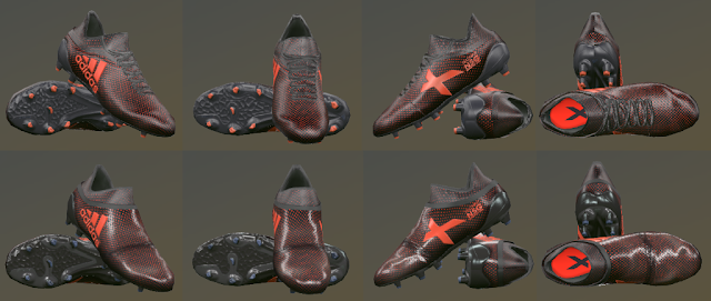 PES 2017 Adidas X17 Boots v2 by T09