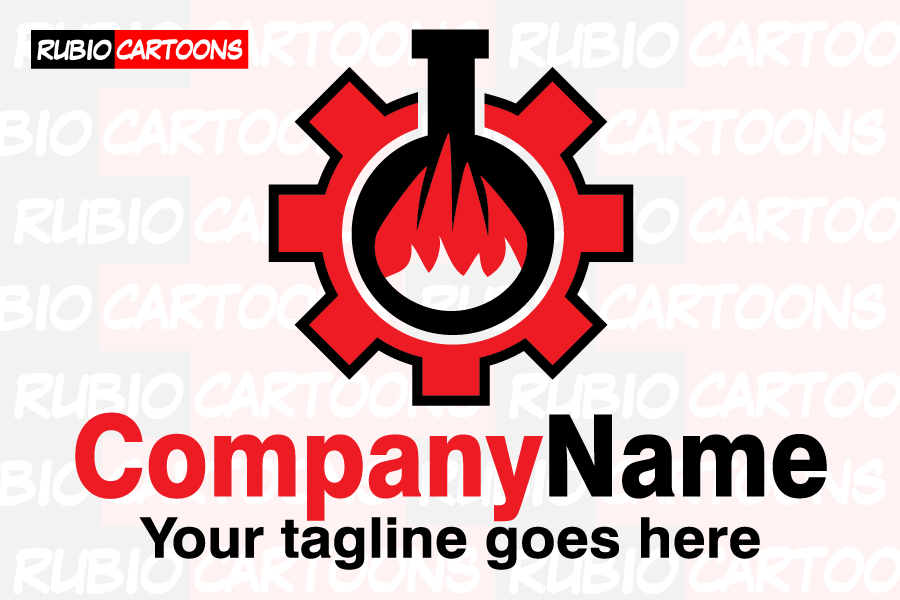 LOGOSTORE: LOGO FOR CHEMICAL COMPANY
